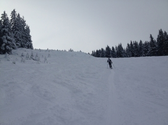 Touring at Sattelberg