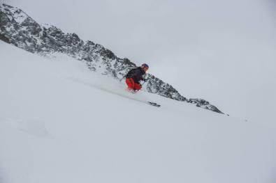Mary Creighton Skiing