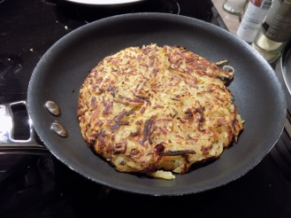 Cooking rösti